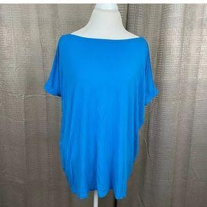 PIKO 1988 Women Oversized Shirt Large Short Sleeve